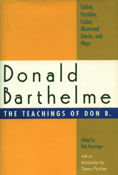 An introduction to the life of donald barthelme